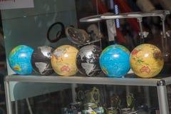 Grupo de globos de vários tipos Fotos de Stock