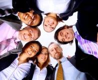 Grupo de hombres de negocios Fotos de archivo libres de regalías