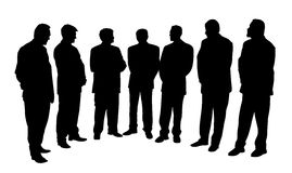 Grupo de hombres de negocios Foto de archivo