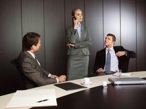 Grupo de hombres de negocios Imagenes de archivo