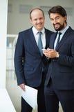 Grupo de hombres de negocios Fotografía de archivo libre de regalías