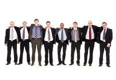 Grupo de hombres felices Foto de archivo