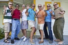Grupo de homens Imagens de Stock Royalty Free