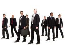 Grupo de homens de negócios Imagem de Stock Royalty Free