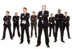 Grupo de homens de negócios fotografia de stock