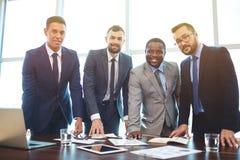Grupo de homens de negócios Imagens de Stock Royalty Free