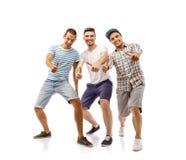 Grupo de homens novos imagem de stock