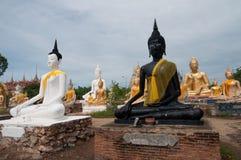 Grupo de imagem de Buddha fotografia de stock royalty free