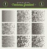 Grupo de inclinação das texturas Imagens de Stock Royalty Free