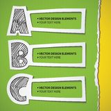 Grupo de Infographic ilustração stock