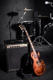 Grupo de instrumentos musicais Imagens de Stock