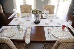 Grupo de jantar Handcrafted Foto de Stock