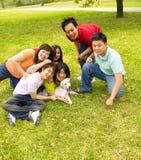 Grupo de jugar de las adolescencias Imagen de archivo