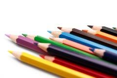 Grupo de lápices coloreados Imagenes de archivo