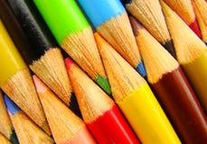Grupo de lápiz del color Imagenes de archivo