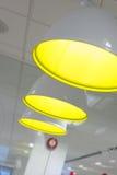 Grupo de lâmpadas de pendente Fotografia de Stock Royalty Free