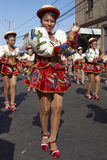 Grupo de la danza de Caporales - Arica, Chile Fotografía de archivo