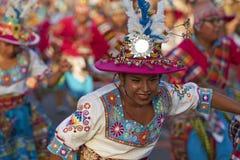 Grupo de la danza de Tinku - Arica, Chile Fotografía de archivo