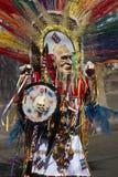 Grupo de la danza de Tobas - Arica, Chile Fotos de archivo libres de regalías