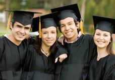 Grupo de la graduación Imagenes de archivo