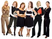 Grupo de la mujer de la gente Foto de archivo libre de regalías