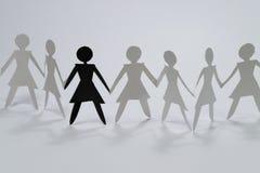 Grupo de la mujer I ilustración del vector