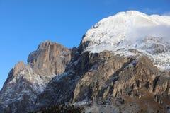 Grupo de Langkofel en el Tyrol del sur Italia Fotografía de archivo