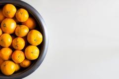 Grupo de laranjas Foto de Stock Royalty Free