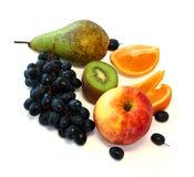 Grupo de las frutas Imagen de archivo libre de regalías