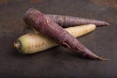 Grupo de las zanahorias de la herencia - 2 Fotografía de archivo