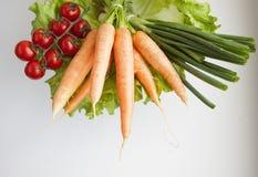 Grupo de legumes frescos Imagens de Stock