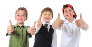 Grupo de levantamento das crianças imagem de stock