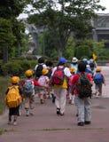 Grupo de los alumnos fotos de archivo