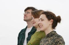 Grupo de los amigos Imagenes de archivo