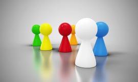 Grupo de los conos coloridos 2 Foto de archivo libre de regalías