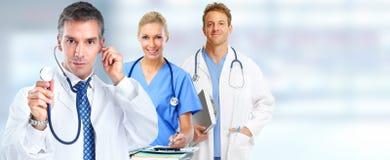 Grupo de los doctores imagen de archivo