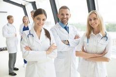 Grupo de los médicos Imagenes de archivo