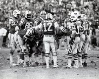 Grupo de los New York Jets del vintage Imagen de archivo
