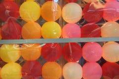 Grupo de luz colorida da bola para a venda Foto de Stock Royalty Free