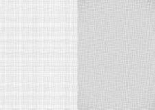 Grupo de luz - linha branca cinzenta textura de serapilheira da lona da linha da tela em fundos do tamanho do papel A4 ilustração do vetor
