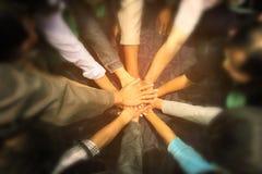 Grupo de mãos imagens de stock royalty free