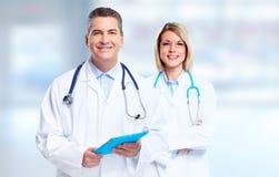 Grupo de médicos imagens de stock