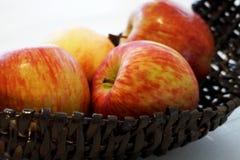 Grupo de maçãs vermelhas Imagens de Stock Royalty Free