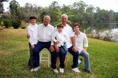 Grupo de machos Foto de Stock Royalty Free
