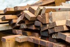 Grupo de madera Fotografía de archivo