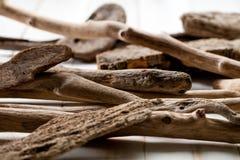 Grupo de madera texturizada de la deriva para el concepto de belleza del zen Fotografía de archivo libre de regalías