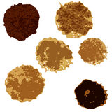 Grupo de manchas coloridas Foto de Stock