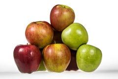 Grupo de manzanas Imagen de archivo libre de regalías