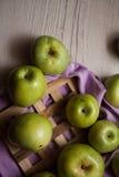 Grupo de manzanas imagen de archivo