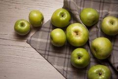 Grupo de manzanas fotografía de archivo libre de regalías